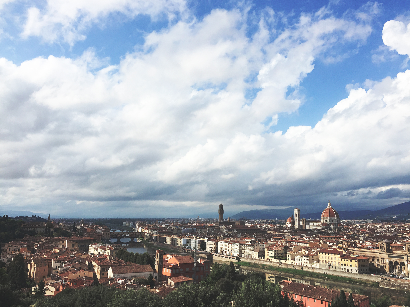 A photograph taken in Florence, Italy 2015