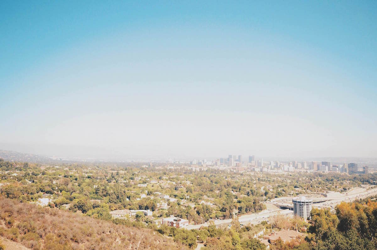A photo of Los Angeles from the top – L.A. 2014