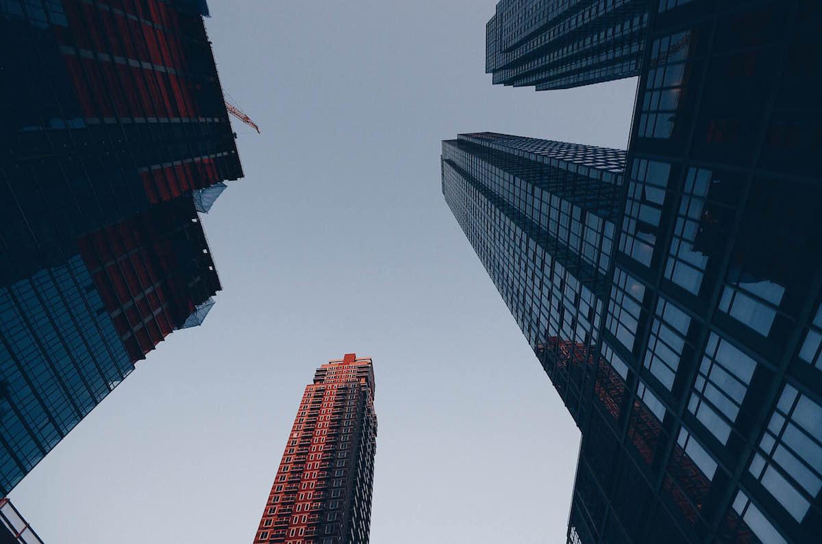 A photo of New York City buildings – NYC 2014