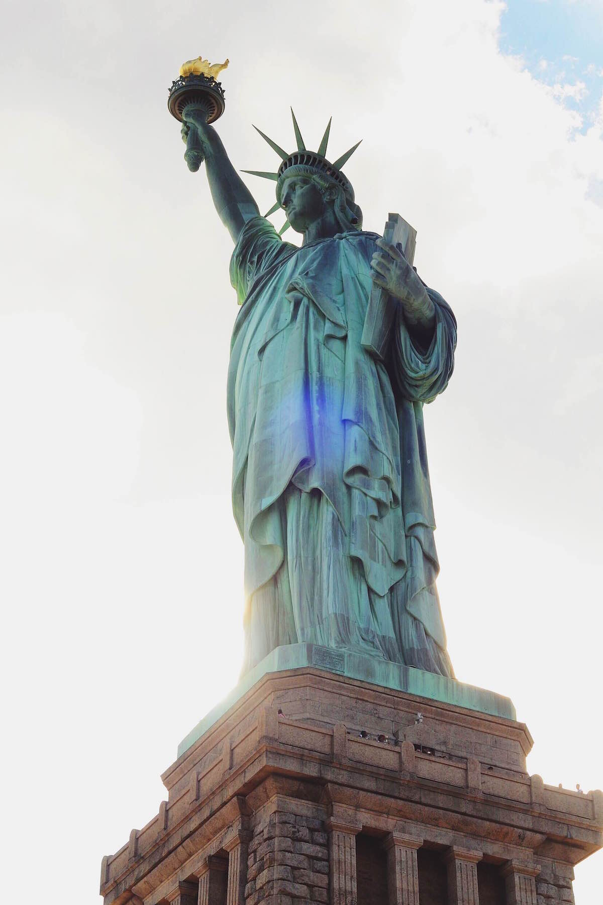 A photo of the Statue of Liberty – NYC 2014