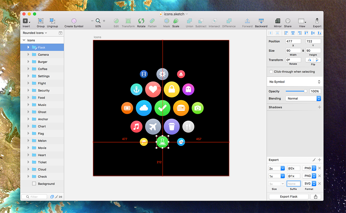 Sketch App for Mac OS X