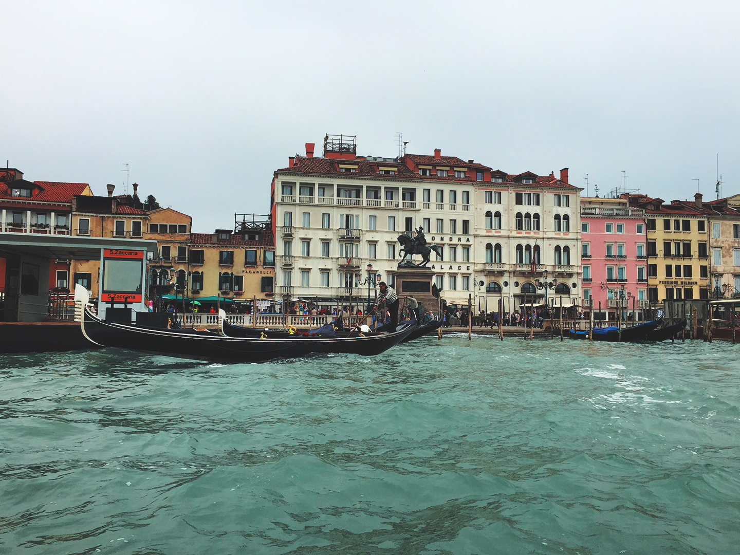 A photograph taken in Venice, Italy 2015